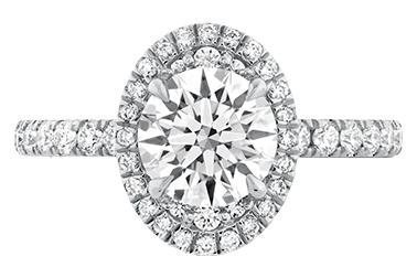 Hearts on Fire Juliette Oval Diamond Ring.