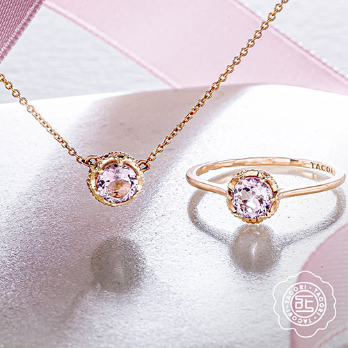 Tacori Ring and Necklace
