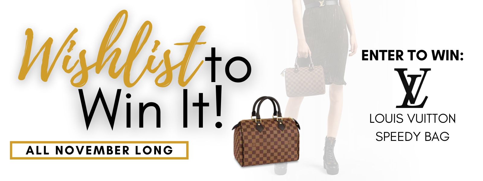 Wish List to Win it! Enter to win Louis Vuitton Bag!