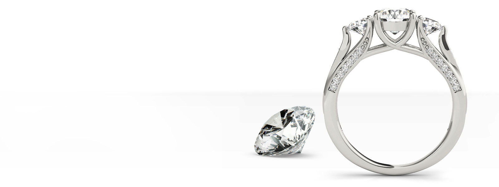 Create Your Own Engagement Ring Select your ring setting and pair it with your ideal diamond. Scott & Company Fine Jewelers New