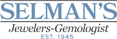 Selman's Jewelers-Gemologist logo