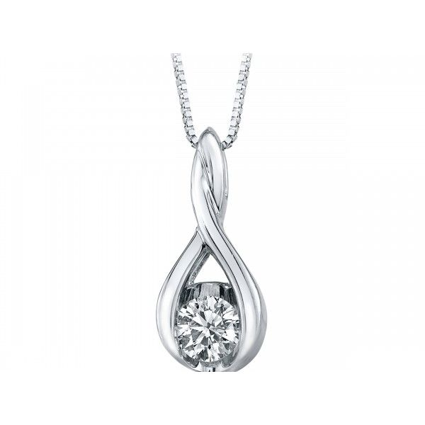 Floating Diamond Pendant Storey Jewelers Gonzales, TX