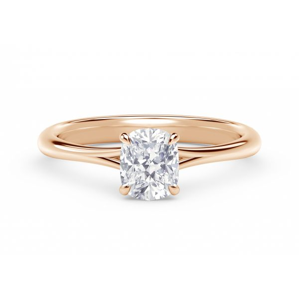 Forevermark Icon Setting Rose Gold Cushion Engagement Ring SVS Fine Jewelry Oceanside, NY