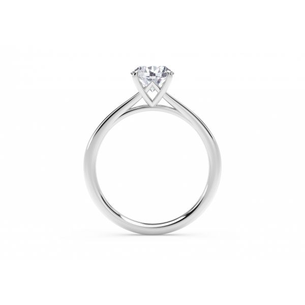 Forevermark Icon Setting Round Engagement Ring Image 3 SVS Fine Jewelry Oceanside, NY
