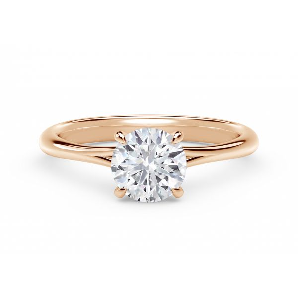 Forevermark Icon Setting Round Engagement Ring SVS Fine Jewelry Oceanside, NY