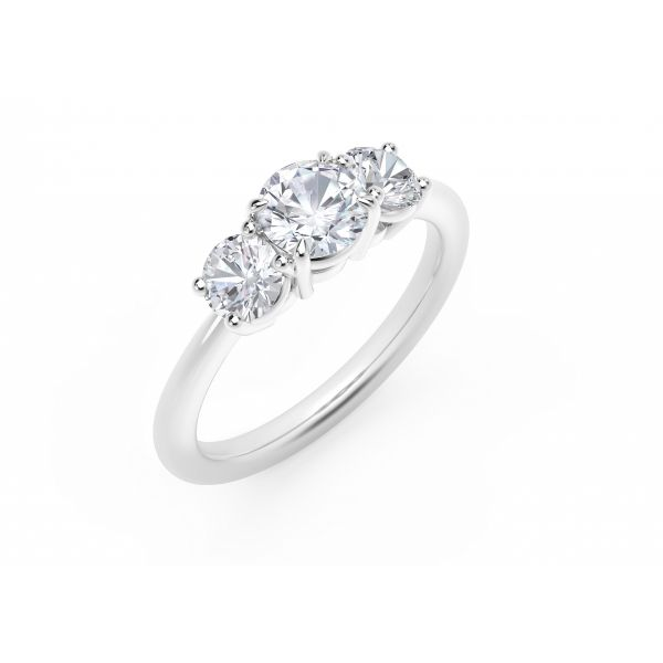 Forevermark Journey Three Stone Ring Image 2 SVS Fine Jewelry Oceanside, NY