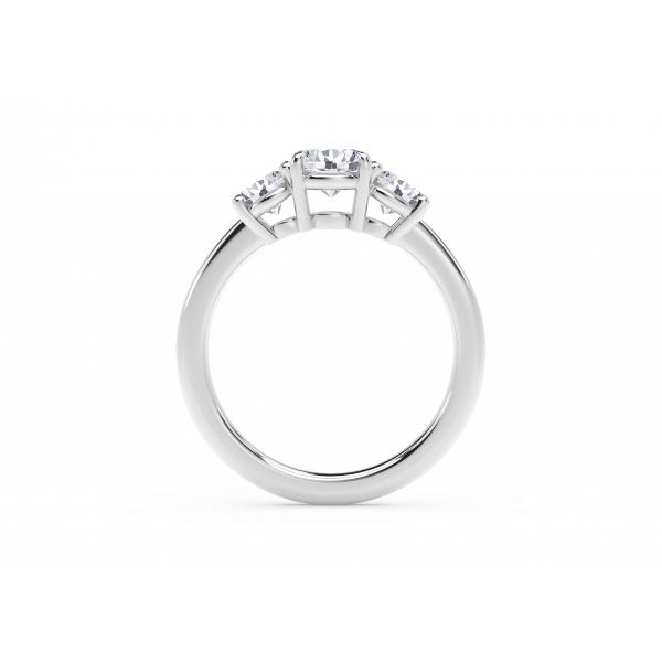 Forevermark Journey Three Stone Ring Image 3 SVS Fine Jewelry Oceanside, NY