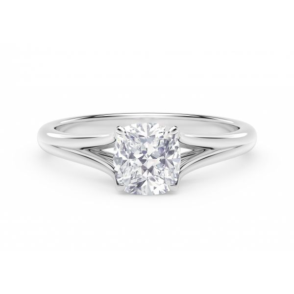Forevermark Unity Cushion Engagement Ring SVS Fine Jewelry Oceanside, NY
