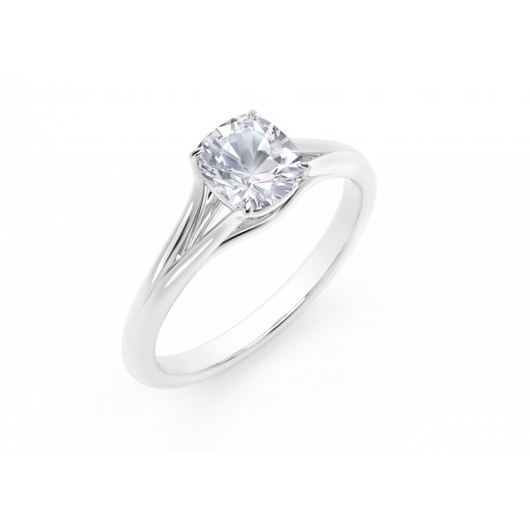 Forevermark Unity Cushion Engagement Ring Image 2 SVS Fine Jewelry Oceanside, NY