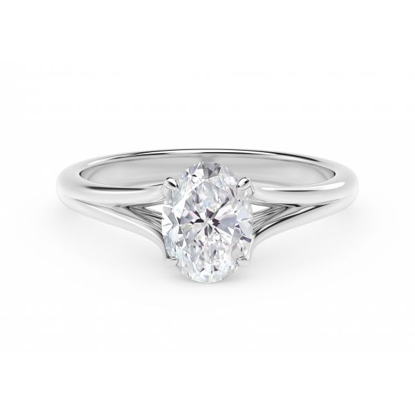 Forevermark Unity Oval Engagement Ring SVS Fine Jewelry Oceanside, NY