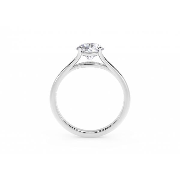 Forevermark Unity Oval Engagement Ring Image 3 SVS Fine Jewelry Oceanside, NY