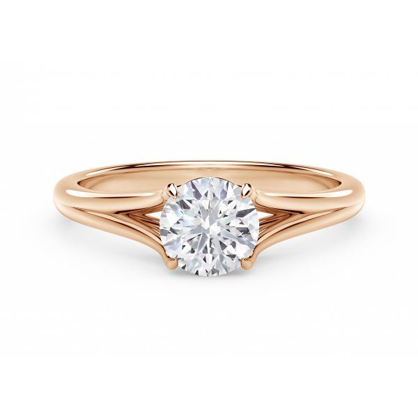 Forevermark Unity Round Engagement Ring SVS Fine Jewelry Oceanside, NY