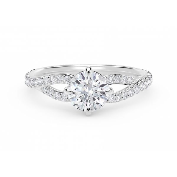 Forevermark Embrace Engagement Ring SVS Fine Jewelry Oceanside, NY