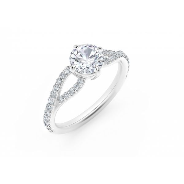 Forevermark Embrace Engagement Ring Image 2 SVS Fine Jewelry Oceanside, NY