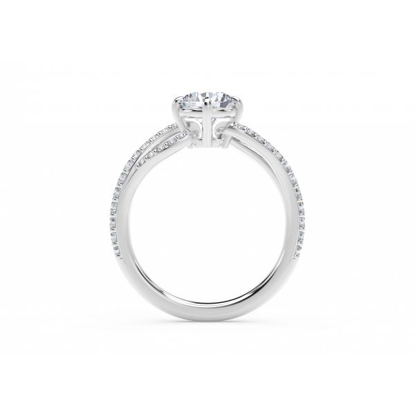 Forevermark Embrace Engagement Ring Image 3 SVS Fine Jewelry Oceanside, NY