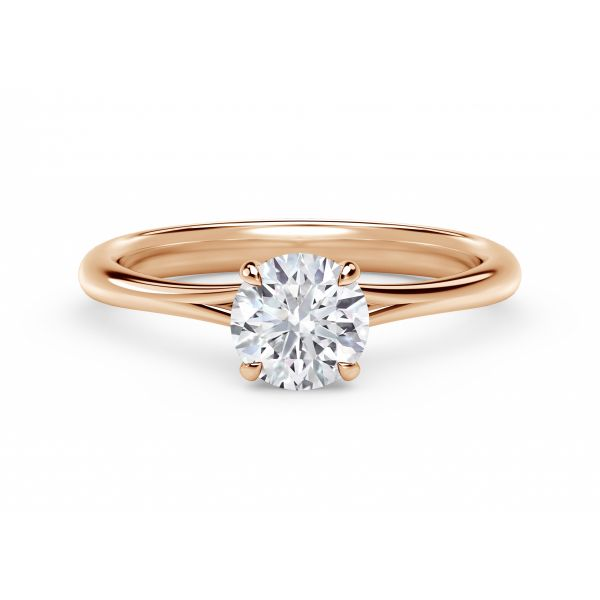 Forevermark Icon Setting Round Engagement Ring with Diamond Basket SVS Fine Jewelry Oceanside, NY