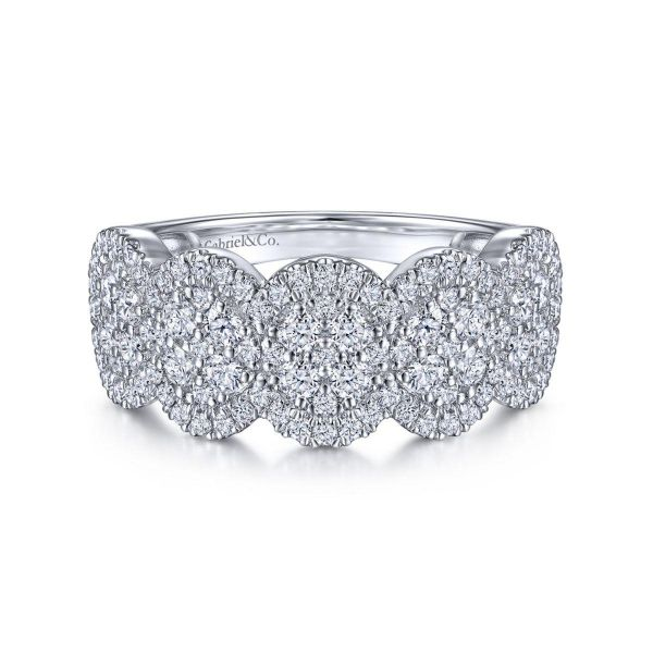 White Gold Diamond Ladies' Ring SVS Fine Jewelry Oceanside, NY