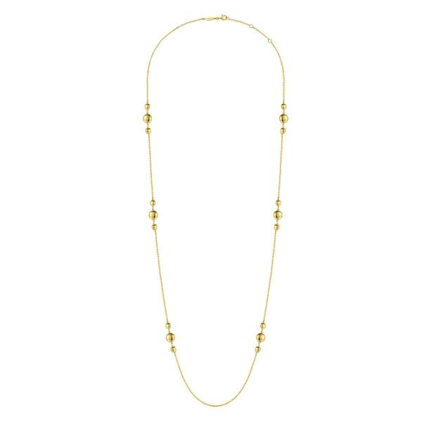 Yellow Gold Fashion Necklace Image 2 SVS Fine Jewelry Oceanside, NY