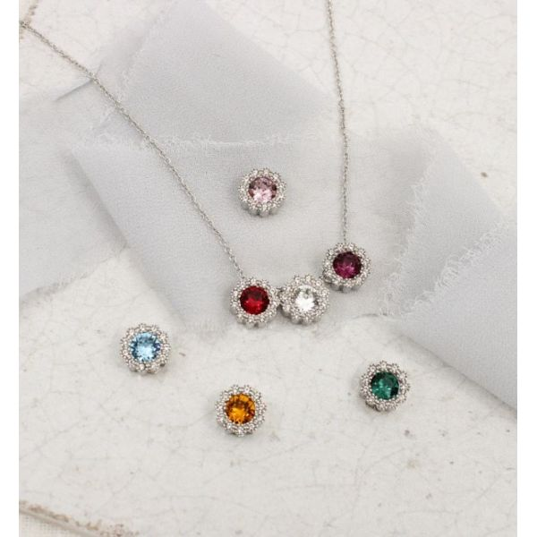 With You Birthstone Chain Image 3 SVS Fine Jewelry Oceanside, NY