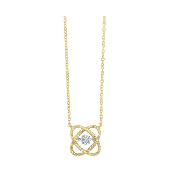 Love's Crossing Diamond Solitaire Necklace SVS Fine Jewelry Oceanside, NY