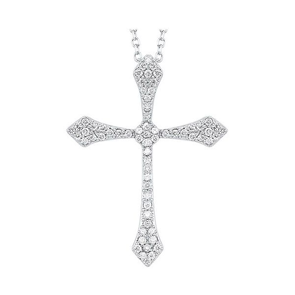 Diamond Cross Necklace SVS Fine Jewelry Oceanside, NY