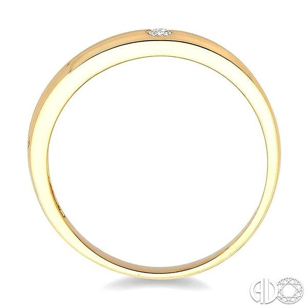 1/50 Ctw Round Cut Diamond Stack Ring in 10K Yellow Gold Image 3 Trinity Diamonds Inc. Tucson, AZ