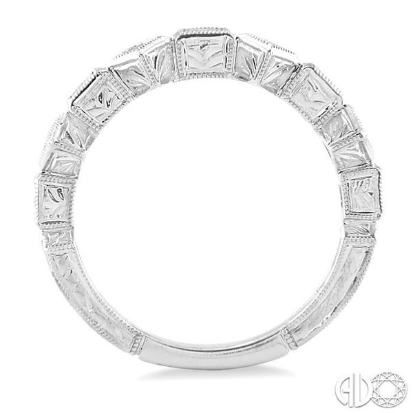 1/2 Ctw Diamond Fashion Band in 14K White Gold Image 3 Trinity Diamonds Inc. Tucson, AZ