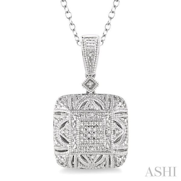 1/20 Ctw Round Cut Diamond Fashion Pendant in Sterling Silver with Chain Trinity Diamonds Inc. Tucson, AZ