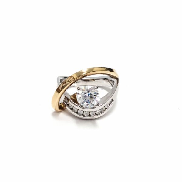 14KT Yellow & White Gold Diamond Ring Vandenbergs Fine Jewellery Winnipeg, MB