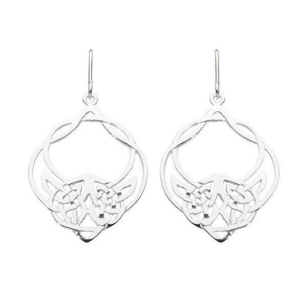 Heritage Lili Celtic Drop Earrings Vandenbergs Fine Jewellery Winnipeg, MB