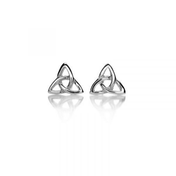Heritage Celtic Trilogen Stud Earrings Vandenbergs Fine Jewellery Winnipeg, MB
