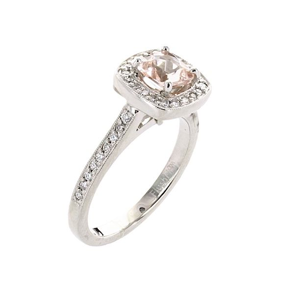Ring morganite .61 38=.32 - image 2
