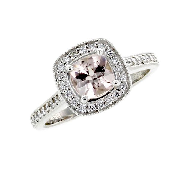 Ring morganite .61 38=.32
