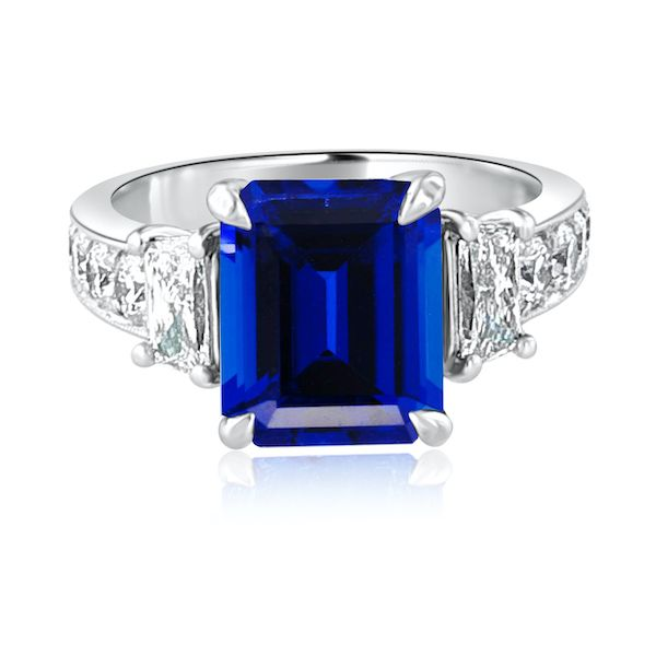 Glamorous Sapphire and Diamond Ring Washington Diamond Falls Church, VA