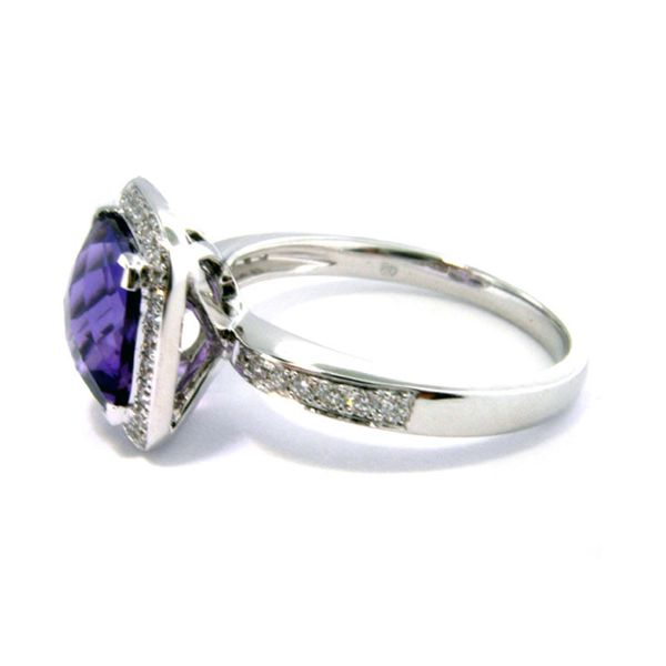 1.98ct.tw. Amethyst & Dia Ring     L5112/AME - image 2