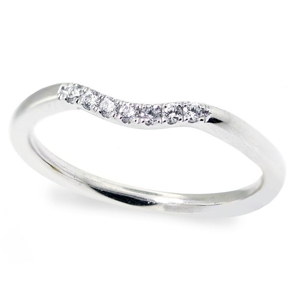 Curved Style Diamond Wedding Band Washington Diamond Falls Church, VA