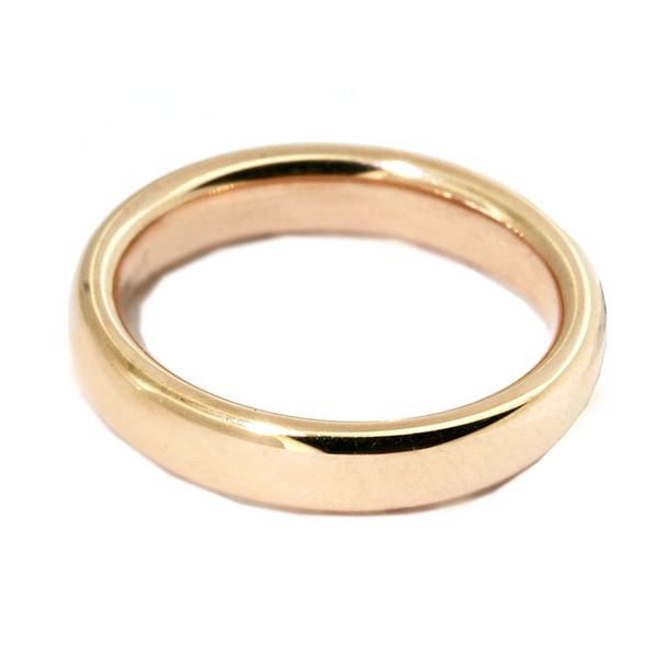 3.5 mm 14k Yellow Gold Euro Fit Wedding Band