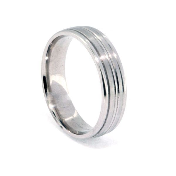 6mm Platinum Striped - image 2