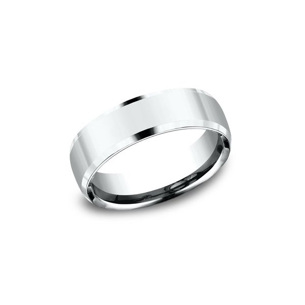 6.5mm Plat Inverted Bev High Polish Men's WB