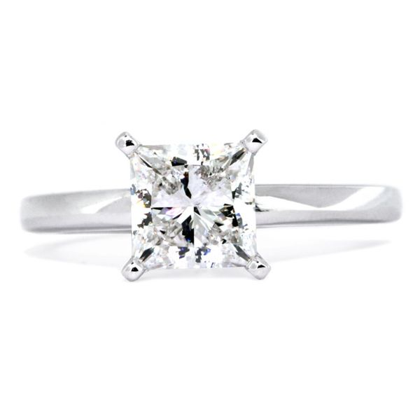 Lauren sleek platinum solitaire