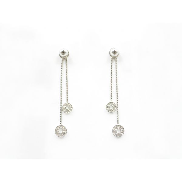 Diamond Dangle Earring Jackets Wyatt's Jewelers Seattle, WA
