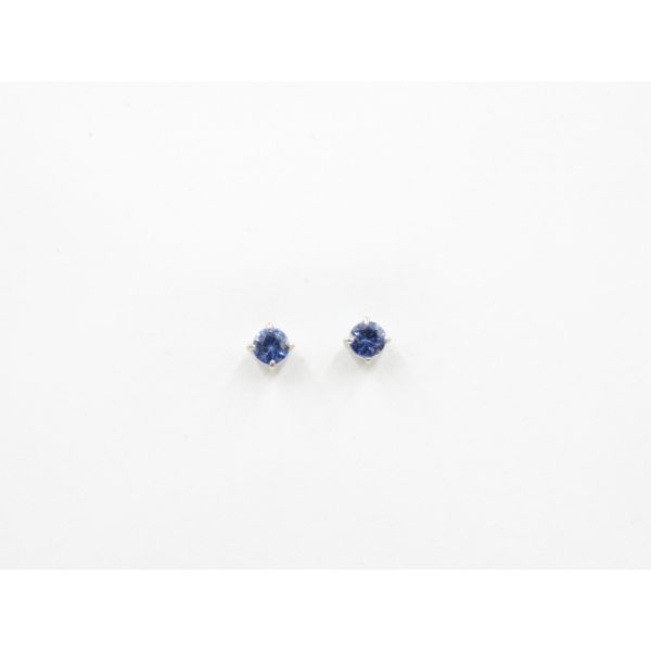 Sapphires Stud Earrings Wyatt's Jewelers Seattle, WA