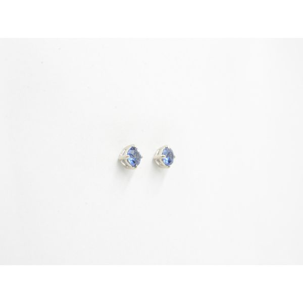 Sapphires Stud Earrings Image 2 Wyatt's Jewelers Seattle, WA