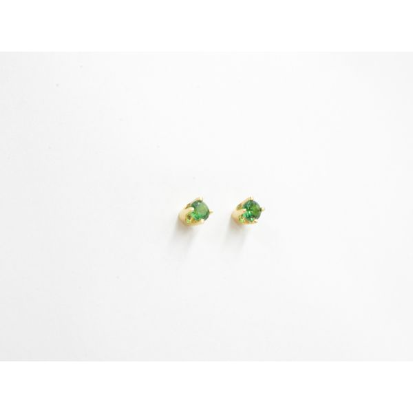 Emerald Stud Earrings Image 2 Wyatt's Jewelers Seattle, WA
